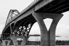 Under the Bridge BW