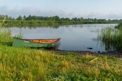Canoe on Dead Creek